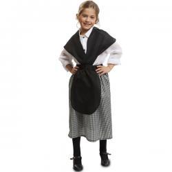 Disfraz de pastora de belén para niña - Imagen 1