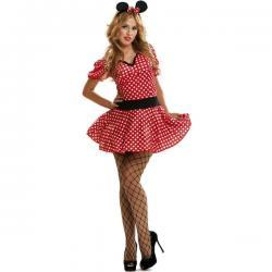 Disfraz de ratoncita coqueta para mujer - Imagen 1