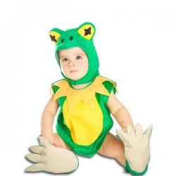 Disfraz de rana de la charca para bebé - Imagen 1
