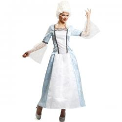 Disfraz de cortesana de Versalles para mujer - Imagen 1