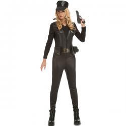 Disfraz de soldado SWAT para mujer - Imagen 1