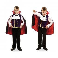 Disfraz de vampiro nocturno para niño - Imagen 1