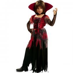 Disfraz de vampiresa tétrica para niña - Imagen 1