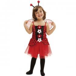 Disfraz de mariquita dulce para niña - Imagen 1