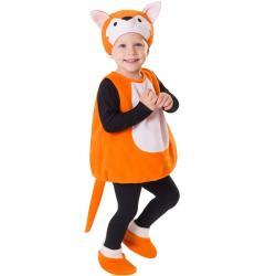 Disfraz de zorro de los bosques infantil - Imagen 1