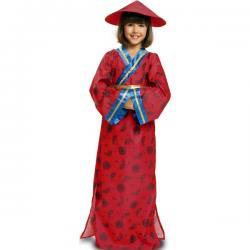 Disfraz de china clásica para niña - Imagen 1