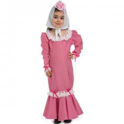 Disfraz de chulapa rosa para bebé - Imagen 1