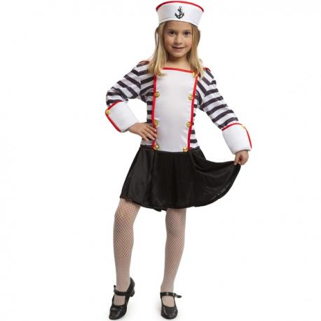 Disfraz de marinerita para niña - Imagen 1