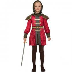 Disfraz de guerrera medieval para niña - Imagen 1