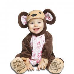 Disfraz de osito moderno para bebé - Imagen 1