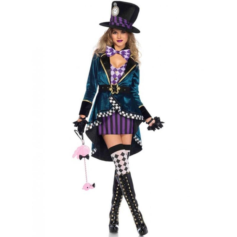 Disfraz De Sombrerero Para Mujer Talla Grande Comprar Online