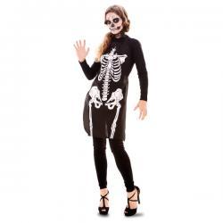 Delantal de esqueleto para adulto - Imagen 1