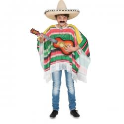 Poncho mejicano elegante para infantil - Imagen 1
