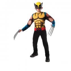Kit disfraz Lobezno Marvel para niño - Imagen 1