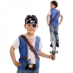Camiseta de pirata para niño - Imagen 1