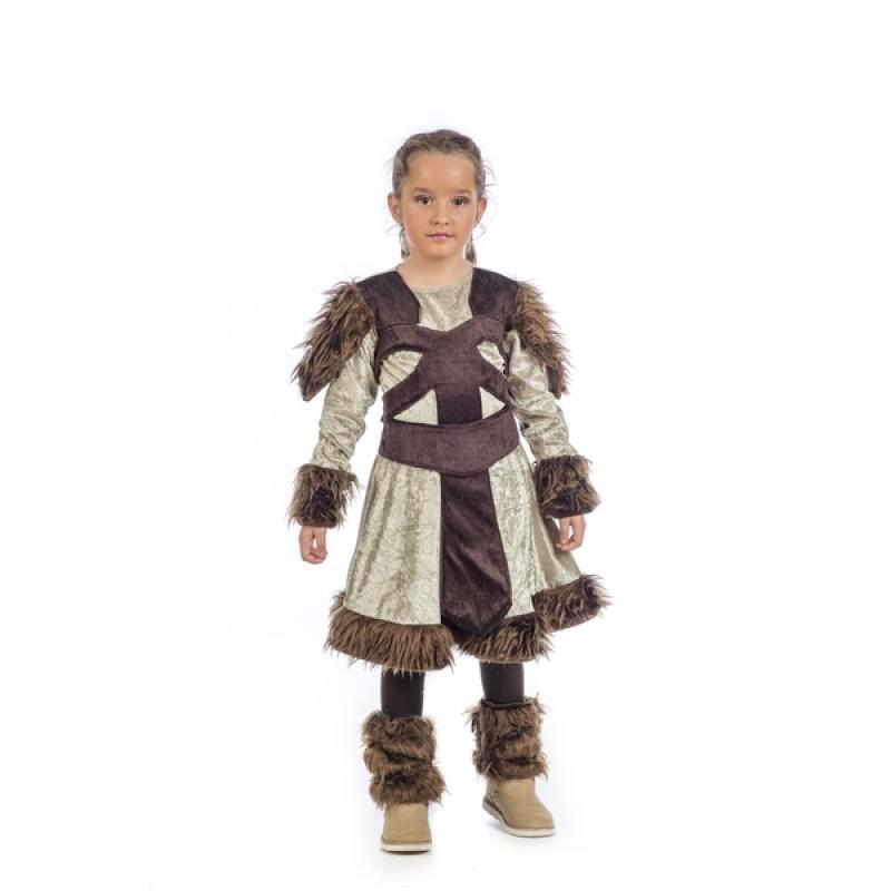 e28e6f1ba Disfraz de guerrera medieval Nerta para niña. Comprar Online
