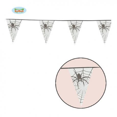 Banderín de araña de tela 6 metros - Imagen 1