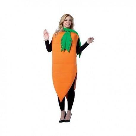 disfraz zanahoria mujer