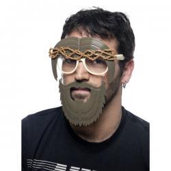 Gafas de Jesucristo con barba para adulto - Imagen 1