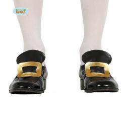 Hebillas para zapato doradas - Imagen 1