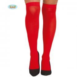 Medias rojas para mujer - Imagen 1
