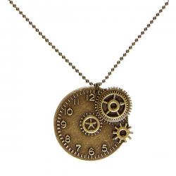 Collar de reloj steampunk - Imagen 1
