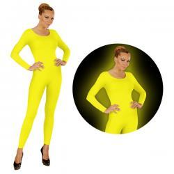 Body amarillo fluorescente para mujer - Imagen 1
