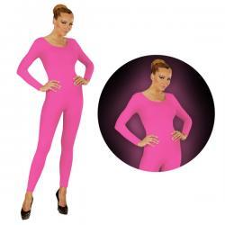 Body rosa fluorescente para mujer - Imagen 1