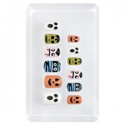 Uñas de halloween adhesivas para niña - Imagen 1