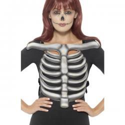 Top esqueleto de goma Eva para adulto - Imagen 1