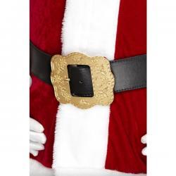 Cinturón de Papá Noel deluxe para adulto - Imagen 1