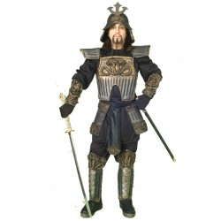 Disfraz de guerrero samurai - Imagen 1