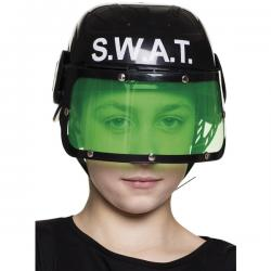 Casco de SWAT antidisturbios infantil - Imagen 1