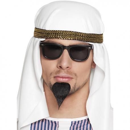 Turbante de jeque árabe para hombre - Imagen 1