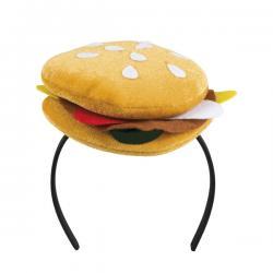 Diadema de hamburguesa para adulto - Imagen 1
