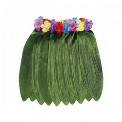 Falda hawaiana tela verde - Imagen 1