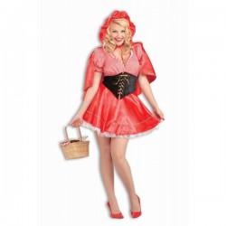 Disfraz de Caperucita roja sexy talla grande - Imagen 1