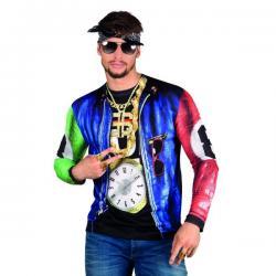 Camiseta de rapero molón para hombre - Imagen 1