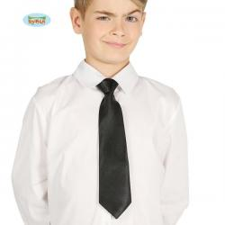 Corbata negra infantil - Imagen 1
