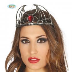 Corona con rubí para mujer - Imagen 1
