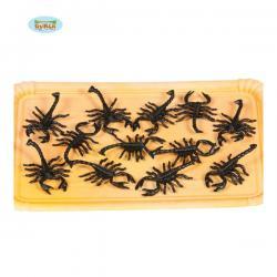 Bolsa de 12 escorpiones decorativos - Imagen 1