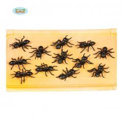 Bolsa de 12 hormigas decorativas - Imagen 1