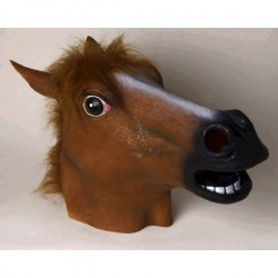 Máscara de caballo loco - Imagen 1