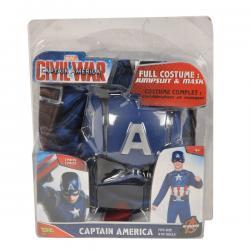 Disfraz de Capitán América Civil War classic para niño - Imagen 1