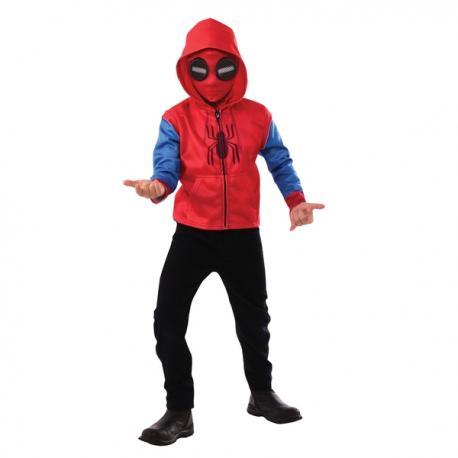 Disfraz de Spiderman Homecoming clásico para niño - Imagen 1