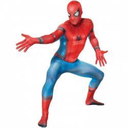 Disfraz de Spiderman Homecoming Morphsuit para adulto - Imagen 1