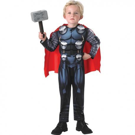 Disfraz de Thor Los Vengadores deluxe para niño - Imagen 1