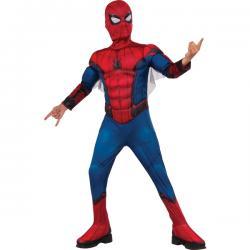 Disfraz de Spiderman Homecoming musculoso en caja para niño - Imagen 1