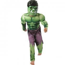 Disfraz de Hulk deluxe para niño - Imagen 1