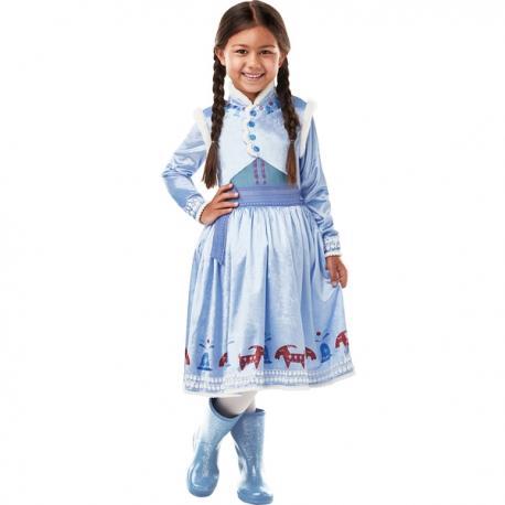 Disfraz de Anna Frozen Adventures deluxe para niña - Imagen 1